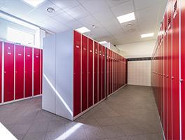 Garderobne omare v podjetju za zaposlene
